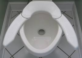 Expandable toilet